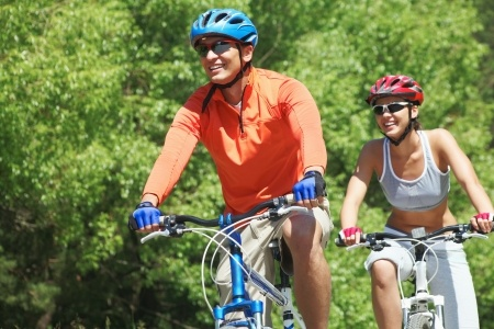 Sports and Fitness - Outdoor Bike Riding